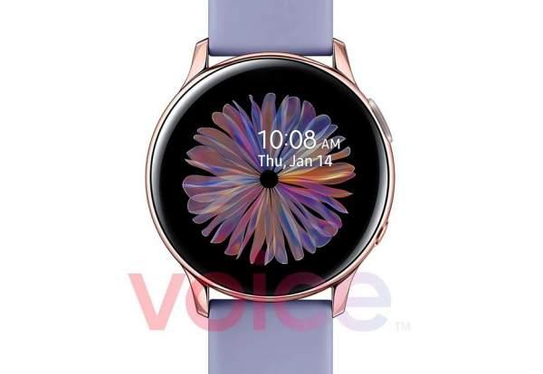 Samsung умные часы Watch Active 2 в новом цвете