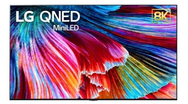 LG добавит в свою линейку телевизоров 8K QNED в 2021 году